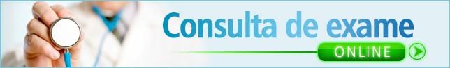 Consulte o resultado do seu exame online!